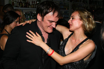 Quentin Tarantino Diane Kruger Cinema Society & Hugo Boss Screening of Inglourious Basterds - After Party