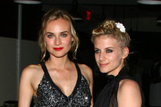 "Actresses Diane Kruger (L) and Melanie Laurent attend the after party for The Cinema Society & Hugo Boss screening of ""Inglourious Basterds"" at The Standard Hotel on August 17, 2009 in New York City."
