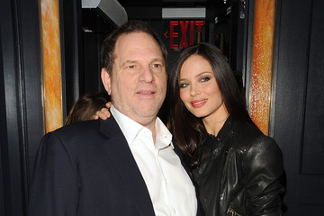 """Harvey Weinstein Georgina Chapman The Cinema Society Screening Of """"Brothers"""" - After Party"""