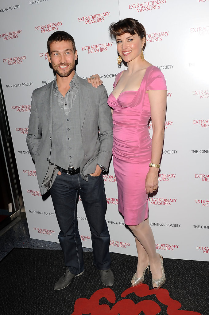 Lucy Lawless, Andy Whitfield - Andy Whitfield Photos - The Cinema ...