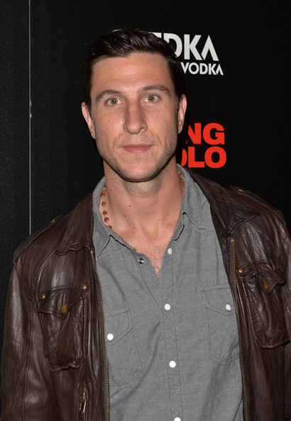 "Pablo Schreiber attends the Millennium Entertainment&squot;s ""Fading Gigolo"" screening hosted by The Cinema Society and Women&squot;s Health at SVA Theater on April 11, 2014 in New York City."