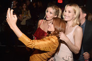 "(L-R) Actors Annabelle Wallis, Isla Fisher and Leslie Bibb attend CinemaCon 2018 Warner Bros. Pictures Invites You to ""The Big Picture"", an Exclusive Presentation of our Upcoming Slate at The Colosseum at Caesars Palace during CinemaCon, the official convention of the National Association of Theatre Owners, on April 24, 2018 in Las Vegas, Nevada."