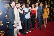 "(L-R) Director Jeff Tomsic, actors Jake Johnson, Jeremy Renner, Leslie Bibb, Hannibal Buress, Annabelle Wallis, Jon Hamm, Ed Helms and Isla Fisher attend CinemaCon 2018 Warner Bros. Pictures Invites You to ""The Big Picture"", an Exclusive Presentation of our Upcoming Slate at The Colosseum at Caesars Palace during CinemaCon, the official convention of the National Association of Theatre Owners, on April 24, 2018 in Las Vegas, Nevada."