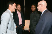 John Fithian and Chadwick Boseman Photos Photo