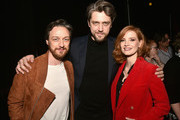 James McAvoy Jessica Chastain Photos Photo