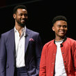 Isaiah Mustafa and Chosen Jacobs Photos