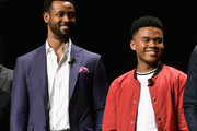 Isaiah Mustafa and Chosen Jacobs Photos Photo