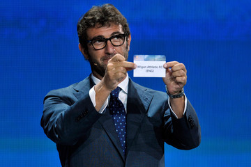 Ciro Ferrara UEFA Europa League Draw