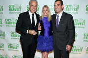 Eric Ripert, Candace Bushnel and Michael Young attend City Harvest's 22nd Annual an Evening of Practical Magic on April 12, 2016 in New York City.