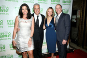 (L-R) Sandra Ripert, Eric Ripert, Kristen McMahon and Patrick McMahon attend City Harvest's 22nd Annual an Evening of Practical Magic on April 12, 2016 in New York City.