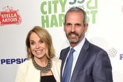 Katie Couric (L) and John Molner attends City Harvest's 35th Anniversary Gala at Cipriani 42nd Street on April 24, 2018 in New York City.