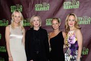 (L-R) Lise Evans, Jilly Stephens, Heather Mnuchin, and Nina Rennert Davidson attend City Harvest's 18th Annual An Evening Of Practical Magic at Cipriani 42nd Street on April 24, 2012 in New York City.