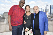 Jon Platt, Sylvia Rhone and Doug Morris attend the City Of Hope - Sylvia Rhone Spirit Of Life Kickoff Breakfast In New York on June 14, 2019 in New York City.