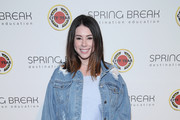 Jillian Rose Reed attends City Year Los Angeles' Spring Break: Destination Education at Sony Studios on April 28, 2018 in Los Angeles, California.