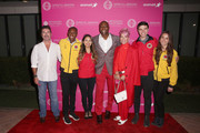 Terry Crews and Rebecca King-Crews (C) and AmeriCorps members attend City Year Los Angeles' Spring Break: Destination Education at Sony Studios on May 04, 2019 in Los Angeles, California.