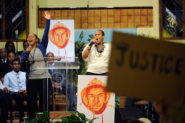 Tina Atkins-Campbell Civil Rights Groups Hold Rally For Trayvon Martin, Address Racial Profiling