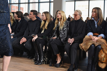 Claiborne Swanson Frank Michael Kors Fall 2015 Runway Show - Front Row