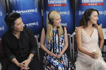 Claire Coffee SiriusXM's Entertainment Weekly Radio Channel Broadcasts from Comic-Con 2015