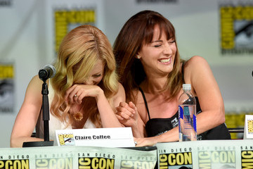 "Claire Coffee ""Grimm"" Season 4 Panel - Comic-Con International 2014"