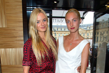 Claire Courtin-Clarins Louis Vuitton New Boutique Opening - Paris Fashion Week Haute Couture F/W 2013