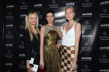Claire Courtin-Clarins amfAR Gala After Party In Celebration Of Mercedes-Benz Fashion Week At SL