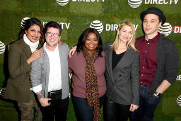 Claire Danes Jim Parsons DIRECTV Lodge Presented by AT&T - Day 3
