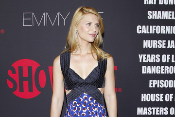 Claire Danes Arrivals at the Showtime Emmy Eve Soiree