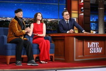 """Claire Foy CBS's """"The Late Show with Stephen Colbert"""" - Season Two"""