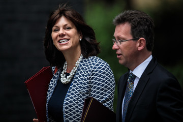 Claire Perry Government Ministers Attend Cabinet After Whitsun Break