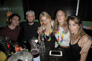 Clara Mathilde McGregor Wilhelmina And The Wolfpack Close Out New York Men's Fashion Week AW/17 With A Summer Vibes Party At B-bar, Drinks Courtesy Of Hendrick's Gin