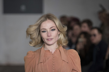 Clara Paget Fashion Fighting Poverty Catwalk Show