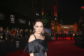 Clare Grant The World Premiere of 'Rogue One: A Star Wars Story'
