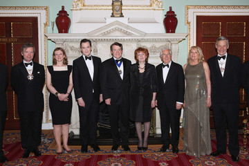 Clare Taylor Guests at the Lord Mayor's Dinner in London