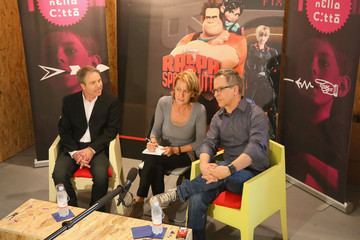 Clark Spencer Rich Moore Wreck-It Ralph Press Event - The 7th Rome Film Festival