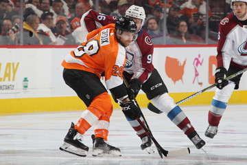 Claude Giroux Colorado Avalanche v Philadelphia Flyers