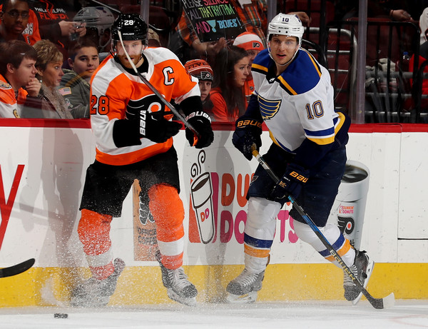 St Louis Blues v Philadelphia Flyers
