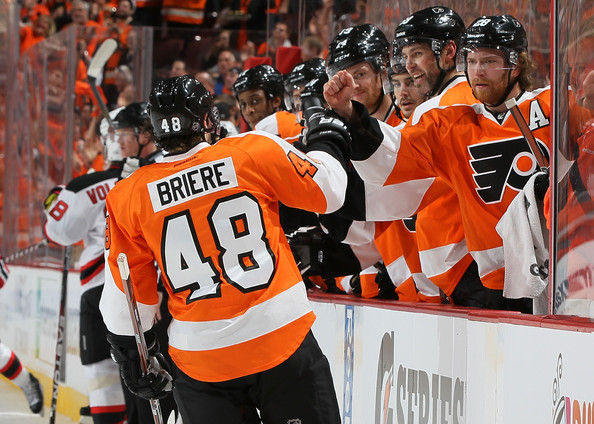New Jersey Devils v Philadelphia Flyers - Game One []