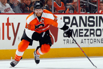 Claude Giroux New York Rangers v Philadelphia Flyers