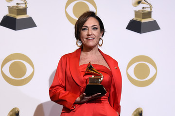 Claudia Brant 61st Annual Grammy Awards - Press Room
