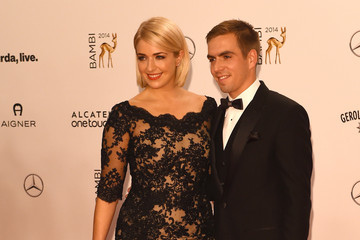 Claudia Lahm Arrivals at the Bambi Awards