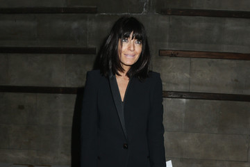 Claudia Winkleman Day 4 - Front Row - LFW FW15