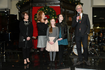 Claudio Del Vecchio Brooks Brothers And St Jude Children's Research Hospital Annual Holiday Celebration In New York City