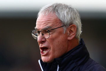 Claudio Ranieri Millwall v Leicester City - The Emirates FA Cup Fifth Round