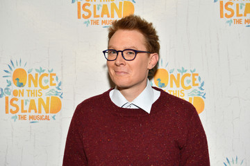 Clay Aiken 'Once on This Island' Broadway Opening Night - Arrivals & Curtain Call