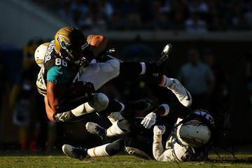 Clay Harbor San Diego Chargers v Jacksonville Jaguars