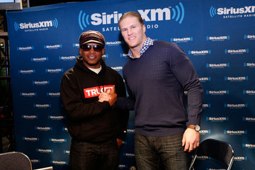 Clay Matthews III SiriusXM Broadcasts Live From Radio Row During Bowl XLVII Week In New Orleans