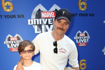 Clayne Crawford Marvel Universe LIVE! Age of Heroes World Premiere Celebrity Red Carpet Event