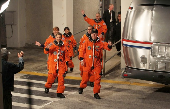 NASA Prepares For Launch Of Space Shuttle Discovery
