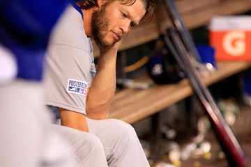 Clayton Kershaw Los Angeles Dodgers v St Louis Cardinals