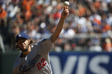 Clayton Kershaw Los Angeles Dodgers v San Francisco Giants